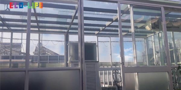Dự án sơn chống nóng kính tại khách sạn Bình An, Q.2, HCM