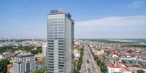 Dự án sơn chống nóng kính tại tòa nhà ngân hàng BIDV, Hoàn Kiếm, Hà Nội